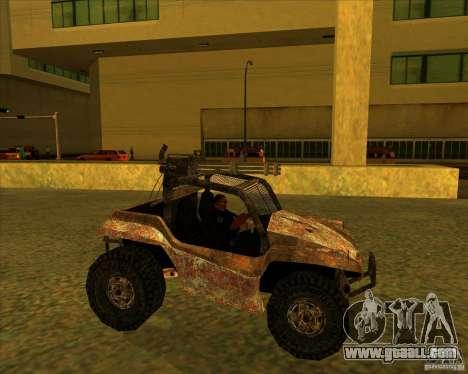 Desert Bandit for GTA San Andreas left view