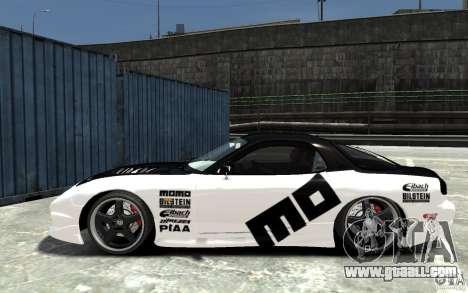 Mazda RX-7 for GTA 4 left view