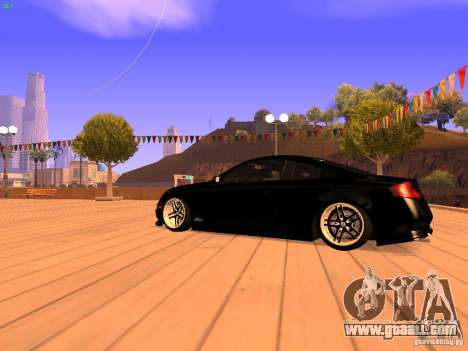 Infiniti G35 V.I.P for GTA San Andreas back left view