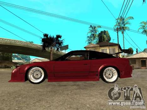 Nissan 240SX Tuned for GTA San Andreas left view