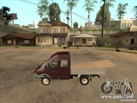 33023 GAS for GTA San Andreas left view