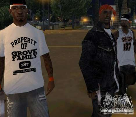 Replacement bands, tattoos, clothing, etc. for GTA San Andreas twelth screenshot