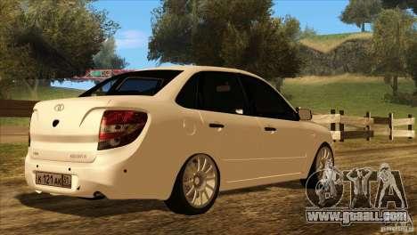 VAZ 2190 Grant for GTA San Andreas wheels