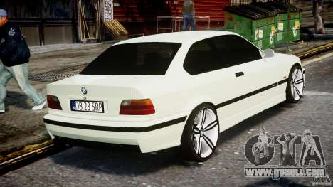 BMW e36 M3 for GTA 4 side view