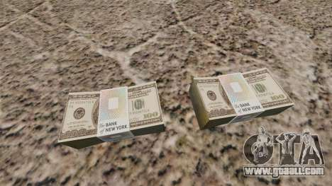 United States banknotes in denominations of $ 10 for GTA 4 second screenshot