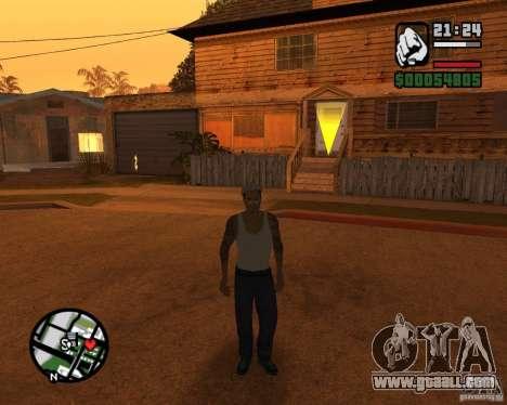 Cj Gopnik for GTA San Andreas second screenshot