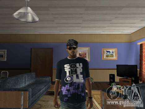 T-shirt Hip Hop for GTA San Andreas