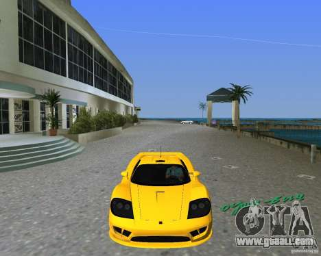 Saleen S7 for GTA Vice City left view