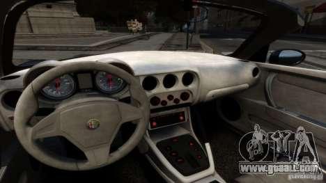 Alfa Romeo 8C Competizione Spider v1.0 for GTA 4 right view