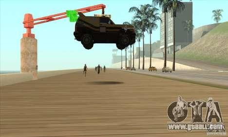 Death Car-death machine for GTA San Andreas third screenshot