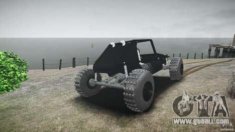 Buggy beta for GTA 4 back left view
