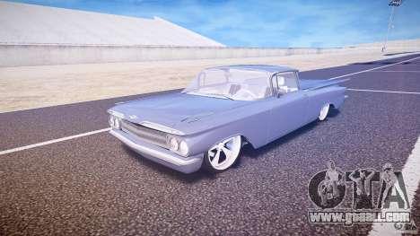 Chevrolet El Camino Custom 1959 for GTA 4