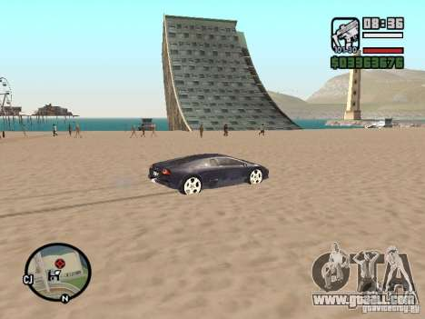 Travel over the Ocean (Beta version) for GTA San Andreas forth screenshot