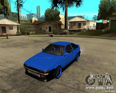 Toyota Corolla AE86 for GTA San Andreas
