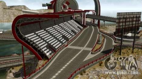 Stunt Speedway Park for GTA 4 second screenshot