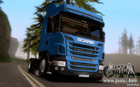 Scania R500 for GTA San Andreas