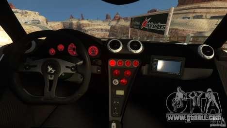 Gumpert Apollo Sport 2011 v2.0 for GTA 4 back left view