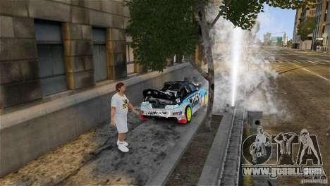 Subaru Impreza WRX STI Rallycross KMC Wheels for GTA 4 bottom view