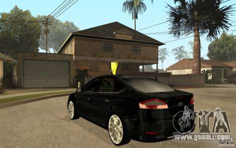 Ford Mondeo 2009 for GTA San Andreas back left view