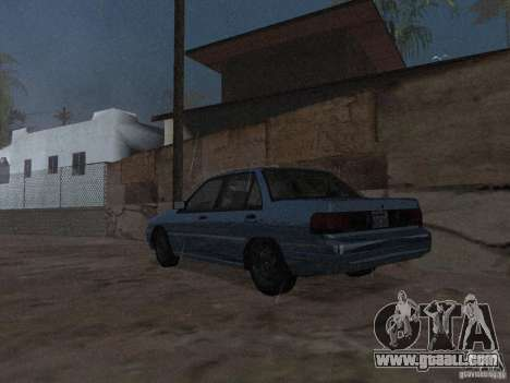 Mercury Tracer 1993 for GTA San Andreas left view