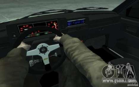 VAZ-2109i Sport for GTA 4 back view