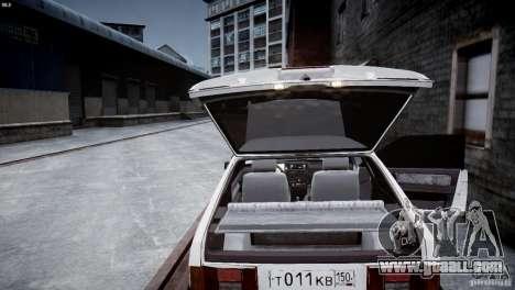 VAZ 21083i for GTA 4 side view