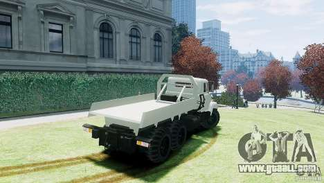 KrAZ-6322 for GTA 4 left view