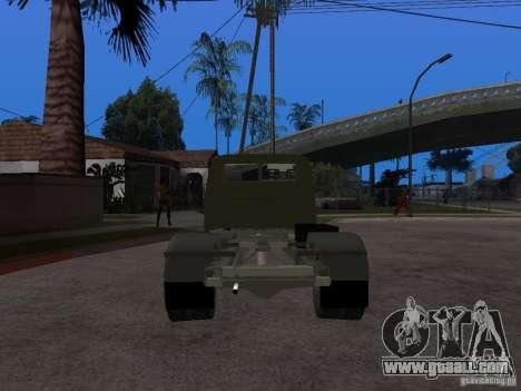 GAZ 3302 v 1.2 (Gazelle tow truck) for GTA San Andreas back left view