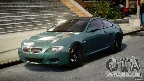 BMW M6 2010 v1.5 for GTA 4 back view