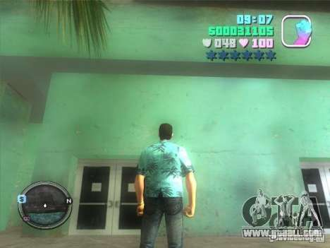 Hud and map for GTA Vice City