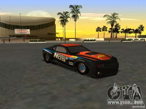 Chevrolet Camaro NOS for GTA San Andreas