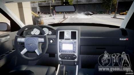 Chrysler 300C SRT8 for GTA 4 upper view