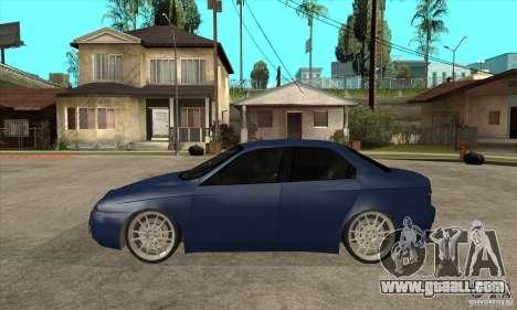 Alfa Romeo 156 Light Tune for GTA San Andreas left view