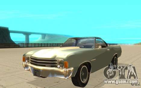 Chevrolet El Camino 1972 for GTA San Andreas