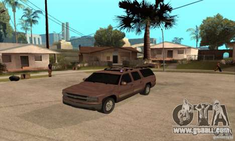 Chevrolet Suburban for GTA San Andreas side view