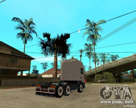 Scania 164L 580 for GTA San Andreas back left view