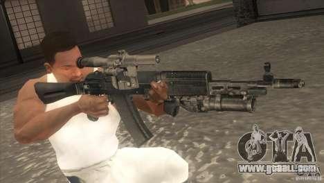 AK-47 v2 for GTA San Andreas fifth screenshot