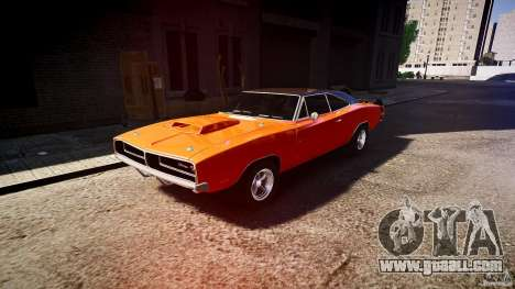 Dodge Charger RT 1969 tun v1.1 sports for GTA 4