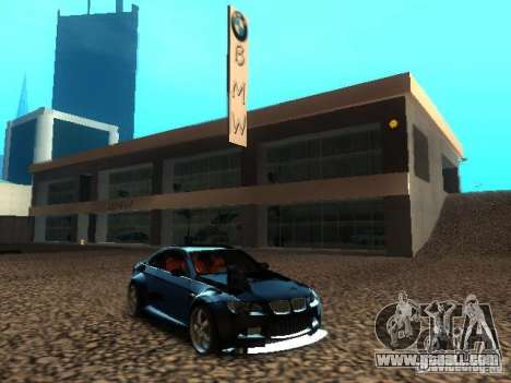 BMW dealership in San Fierro for GTA San Andreas