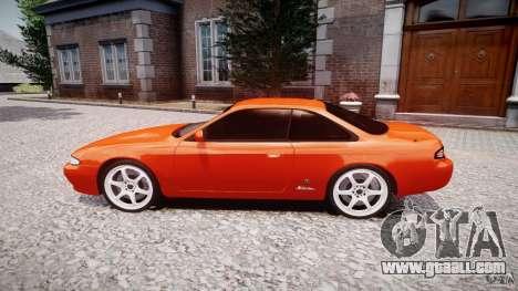 Nissan Silvia Ks 14 1994 v1.0 for GTA 4 inner view
