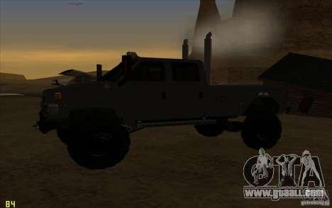 GMC Topkick Ironhide TF3 for GTA San Andreas right view