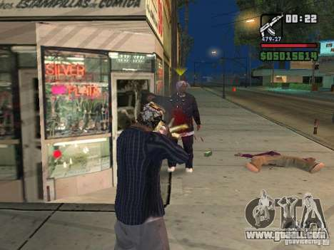 New Realistic Effects for GTA San Andreas third screenshot