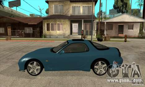 Mazda RX-7 - Stock for GTA San Andreas left view