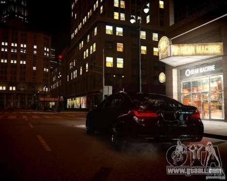 BMW 750Li 2013 for GTA 4 inner view