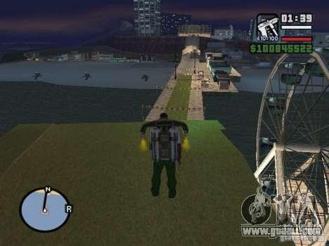 Night moto track V.2 for GTA San Andreas fifth screenshot