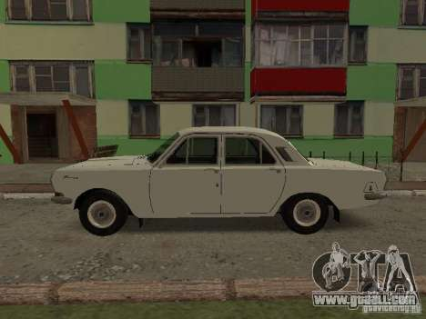 GAZ 24 for GTA San Andreas left view