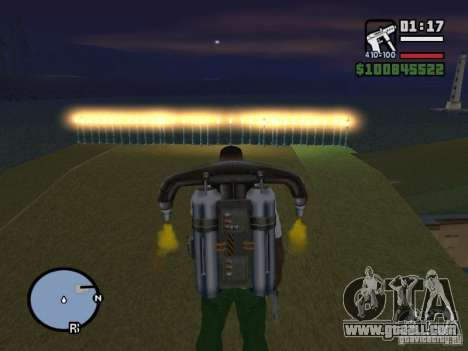 Night moto track V.2 for GTA San Andreas second screenshot