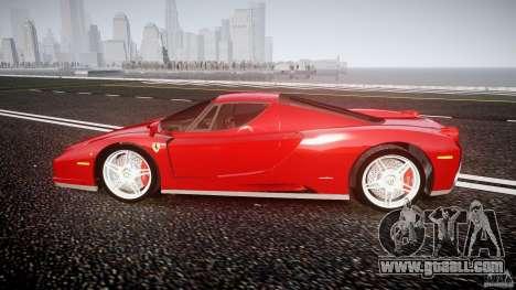 Ferrari Enzo for GTA 4 left view