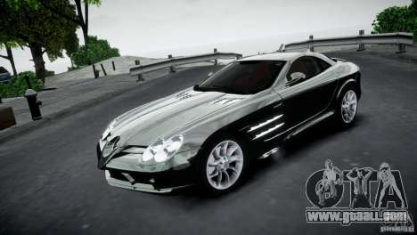 Mercedes-Benz SLR McLaren 2005 v1.0 for GTA 4 left view