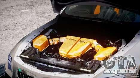 BMW M6 G-Power Hurricane for GTA 4 back view